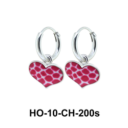 Kids Earring Charms Sweet Heart HO-10-CH-200s