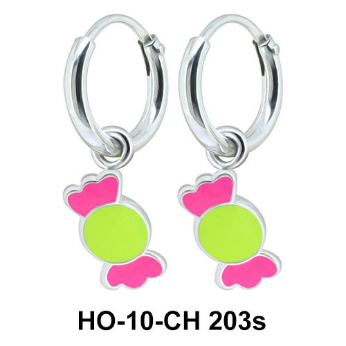 Kids Earring Charms Sweet Candy HO-10-CH-203s