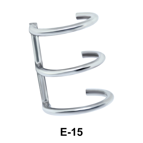 Ear Clip Stunning Design E-15