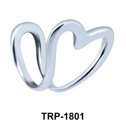 Plain Heart Tragus Cuff TRP-1801