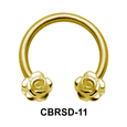 Sweet Rose Nipple Circular Barbell CBRSD-11
