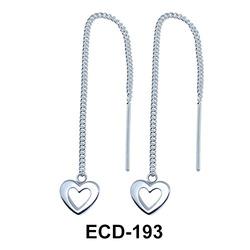 Dangling Chain Earrings ECD-193