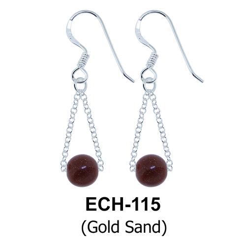 Silver Earring ECH-115-GS