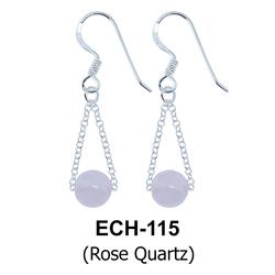 Silver Earring ECH-115-RQ