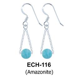 Silver Earring ECH-116-AMZ