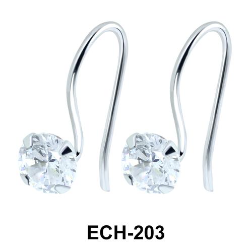 Silver Earrings ECH-203