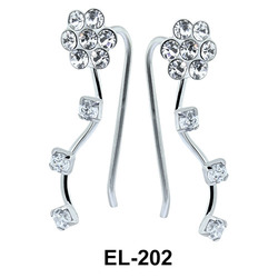 Silver Earring EL-202