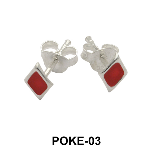 Stud Earrings POKE-03