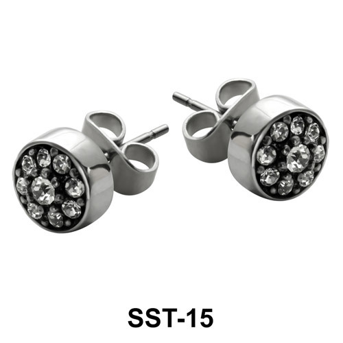 Stud Earrings SST-15