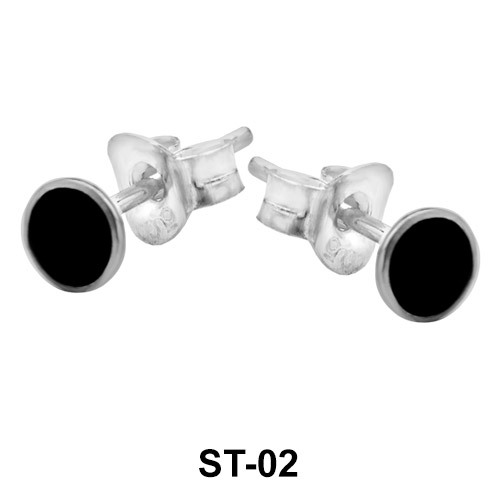 Stud Earring 4 mm Dot Shape ST-02