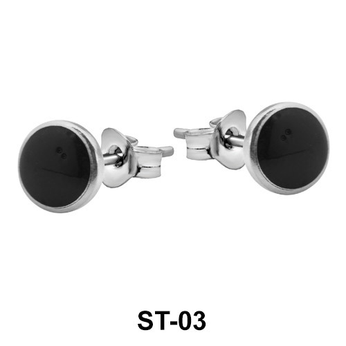 Stud Earring 5 mm Dot Shape ST-03