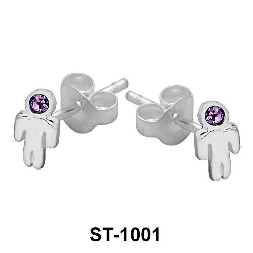 Stud Earring Body Shape ST-1001