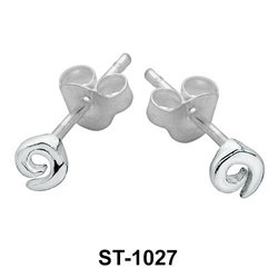 Stud Earring Whorl Shape ST-1027
