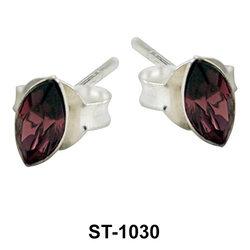Stud Earring Oval Shape ST-1030