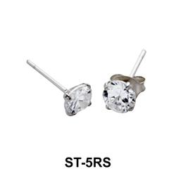 Stud Earring Classic Circle ST-5RS