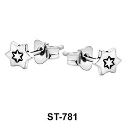 Stud Earring Six-Pointed Star ST-781