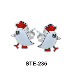 Kids Stud Earring Little Chicken STE-235