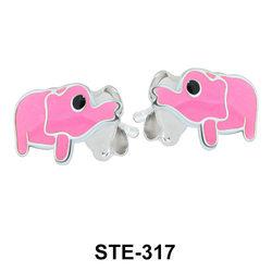 Kids Stud Cute Elephant STE-317