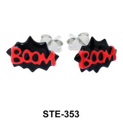 Kids Stud Earring Big Boom STE-353