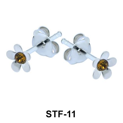 Silver Studs Earrings STF-11
