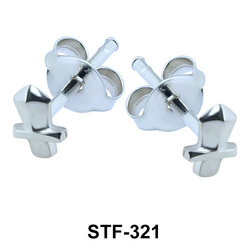 Small Knife Shaped Stud Earrings STF-321