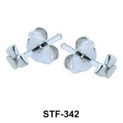Flower Shaped Stud Earrings STF-342