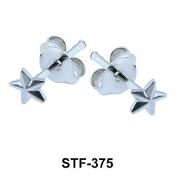 Star Shaped Stud Earrings STF-375