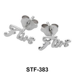 FLIRT Silver Studs Earrings STF-383