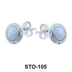 Stud Earrings STO-105