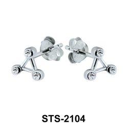 Stud Earrings STS-2104