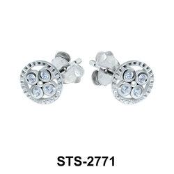 CZ Stones Stud Earring STS-2771