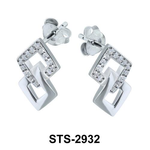 CZ Stones Stud Earring STS-2932