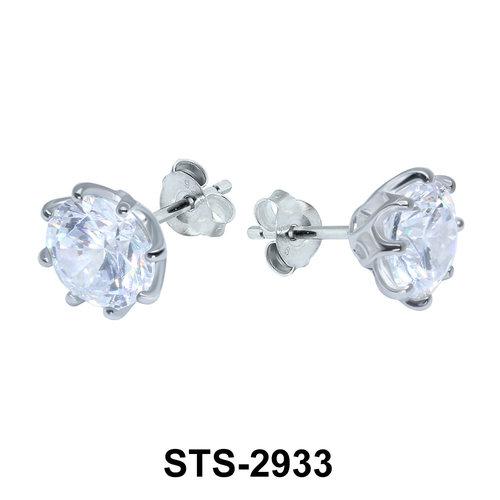 CZ Stone Stud Earring STS-2933