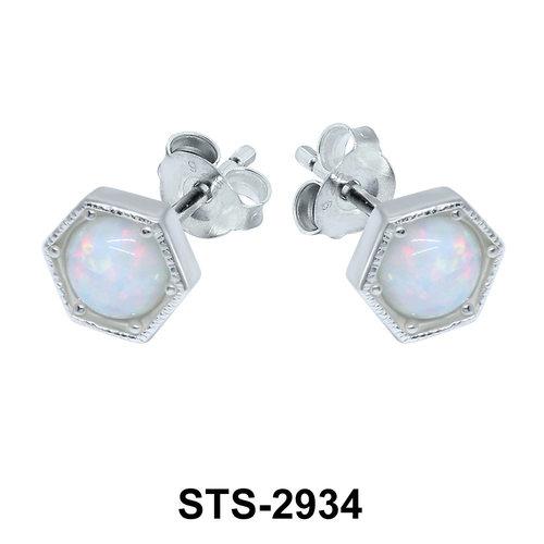 Opal Stud Earring STS-2934