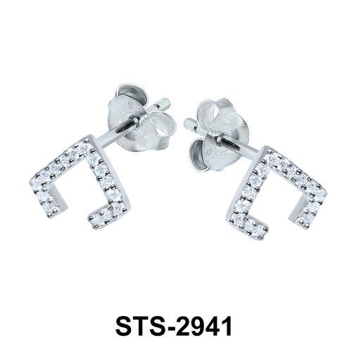 CZ Stones Stud Earring STS-2941