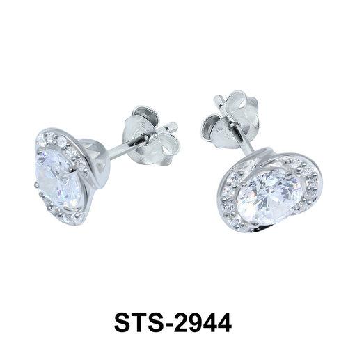 CZ Stones Stud Earring STS-2944