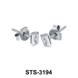 CZ Stud Earring STS-3194