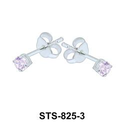 Stud Earrings STS-825-3mm.