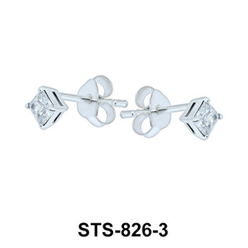 Stud Earrings STS-826-3