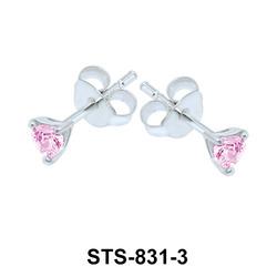 Stud Earrings STS-831-3