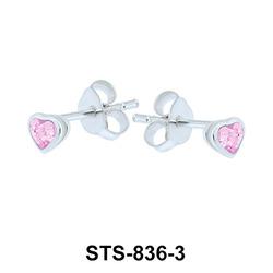 Stud Earrings STS-836-3