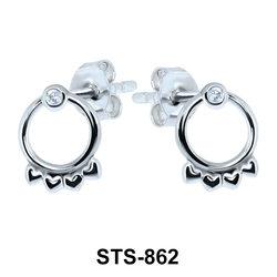 Stud Earrings STS-862