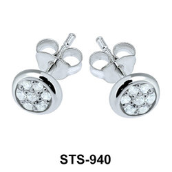 Stud Earrings STS-940