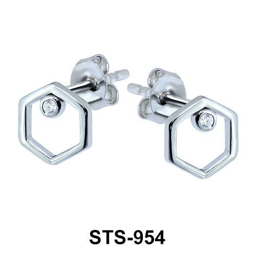Stud Earrings STS-954