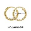 10mm Silver Hoop Earring HO-10MM