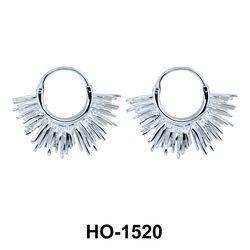 Silver Hoop Earring HO-1520