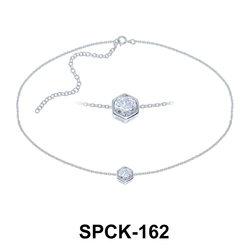 Silver Chokers SPCK-162