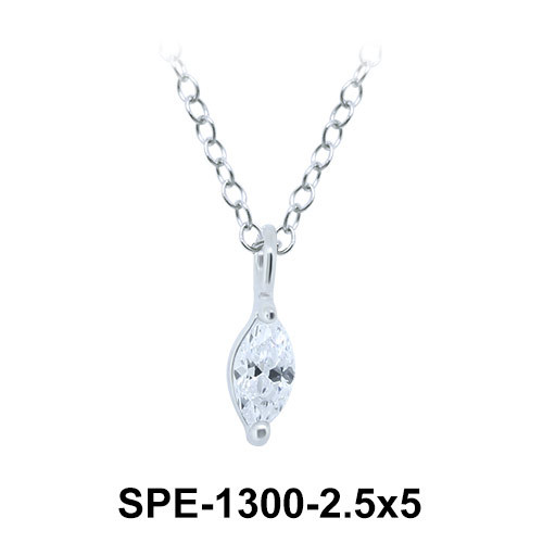 Pendant Silver SPE-1300-2.5x5