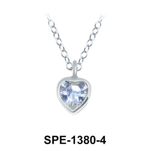 Pendants Silver SPE-1380-4