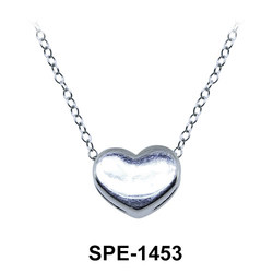 Lovely Heart Silver Pendant SPE-1453